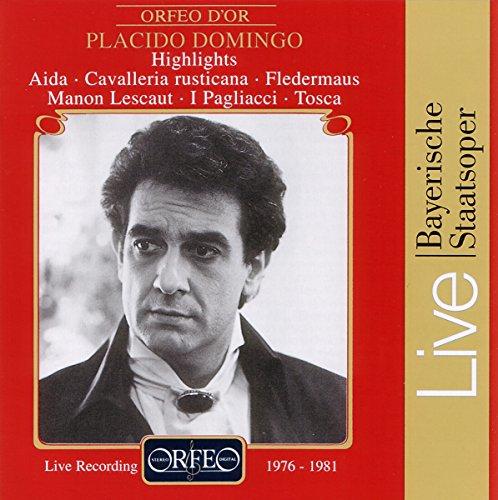 Domingo, Placido Live (Highlights Fledermaus, Aida, Tosca, Manon Lescaut)