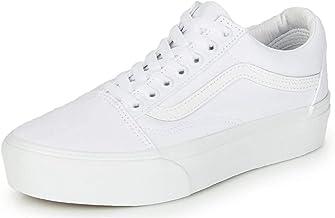 white vans platform sneakers