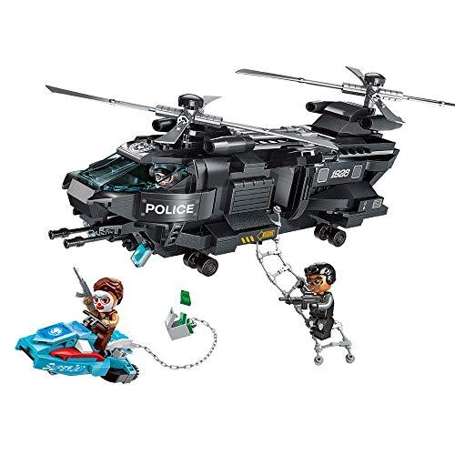 YeoMark City Police SWAT Team Building Set Construction Toys Militare & Patrol Boat Costruzione Giocattoli
