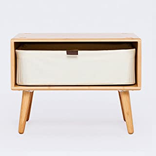 ZEN'S BAMBOO Chest of Drawers Nightstand with Legs Freestyle DIY Combine Living Room Home Furniture