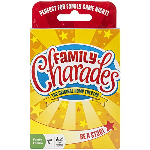 Family Charades Card Game by Outset Media - Travel Friendly Family Charades Game - Includes Over 300...