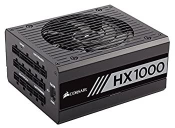 Corsair CP-9020139-UK HX1000 1000 W 80+ Platinum Fully Modular Power Supply Unit - Black