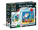 Clementoni Play Creative Crea tu propio acuario Juego, multicolor, 15259