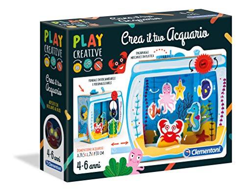 Clementoni - 15259 - Play Creative - Crea il tuo Acquario