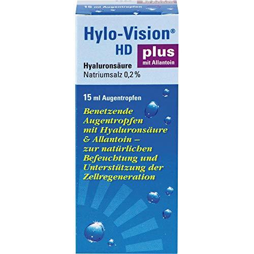 Hylo-Vision HD plus Augentropfen, 15 ml Lösung