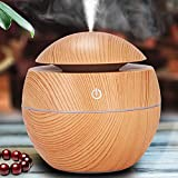 Aromatherapy (Light Wood Grain) Essential Aroma Oil Diffuser Defuser Oil Diffuser