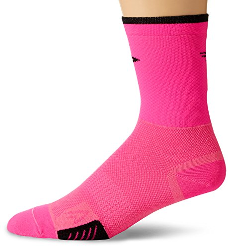 Defeet Cyclismo 12,7 cm Socken, Hi-Vis Pink, Größe XL