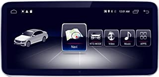 10.25 Car Touch Screen for Mercedes Benz A CLA GLA Class W176 2013 to 2015 NTG4,Blue-ray Anti-glare Screen 8-Core 4GB RAM 64GB ROM Android GPS Navigation Radio Stereo Dash Multimedia Player