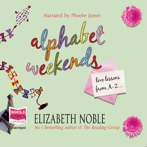 Alphabet Weekends audiobook cover art