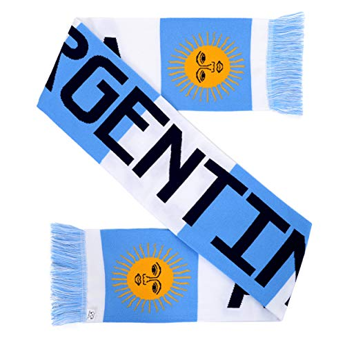 National Soccer High-Definition HD Knit Scarf (Argentina)