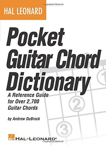 Hal Leonard Pocket Guitar Chord Dictionary Bam