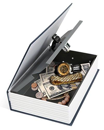 iMounTEK Home Security Steel Dictionary Book Safe