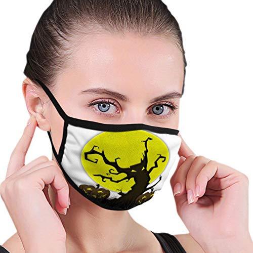 Mond Cover Masker Wasbaar- Beschermende vleermuis Vlieg Halloween Stof Recycle Tekening