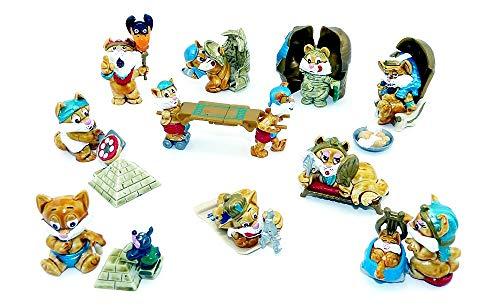 Miezi Cats Figuren von 1998 (Komplettsätz Überraschungsei Figuren)