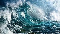 大人と子供のための1000個のパズルおもちゃ海の波の風景パズルに挑戦するパズルゲーム