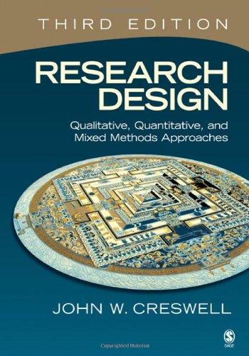 Research Design: Qualitative, Quantitative, and Mixed...