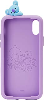 BT21 Official Merchandise by Line Friends - KOYA Character Silicone Case Compatible for iPhone X