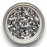 Steinteppich Set Dunkelgrau Bindemittel Epoxidharz - Grigio Carnico 25kg plus Epoxid Bindemittel, bis 2,5qm - 3