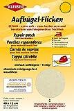 Kleiber + Co.GmbH Aufbügel-Flicken Zephir, Creme, ca. 40 cm x 12 cm