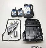 Mopar corona sh kit de servicio y transmisión automática aceite pan 6L ATF + 4Grand Cherokee 4.7l 1999–2004