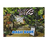 7haofang Magic Moving Images Books Animal Pictures Magic Tricks Props Toys Animated Optical Illusions Kids Gifts