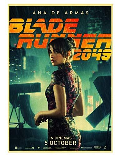 H/P Movie Blade Runner 2049 Retro Poster Wall Stickers Living Room Home Decoration Painting Frameless 50X70Cm W2241
