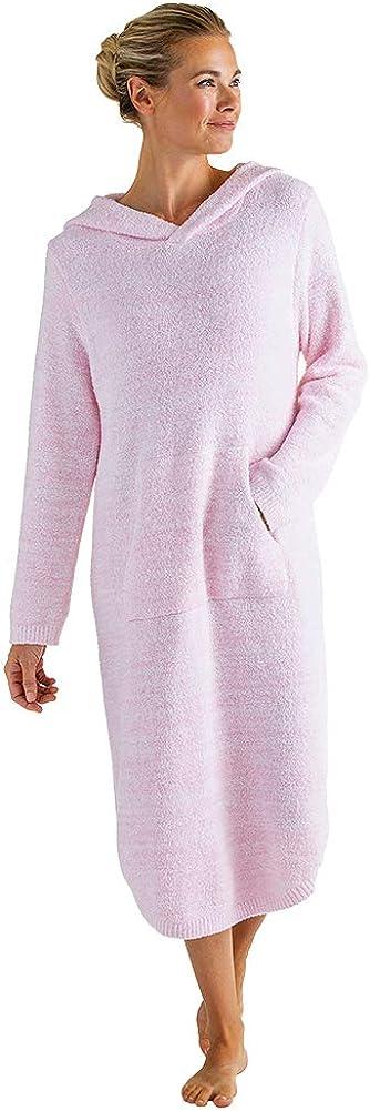 Softies Women's Ultra Soft Marshmallow Hooded Lounger