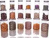 SAVORIER Kitchen Storage & Containers - Good Grips 18-pcs Airtight Round Canister Set