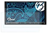 Bruni Película Protectora Compatible con Kenwood DNX8160DABS Protector Película, Claro Lámina...