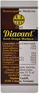 ADEL Homoeopathic Madaus Diacard Gold Drops (25 ML) by Exportmall