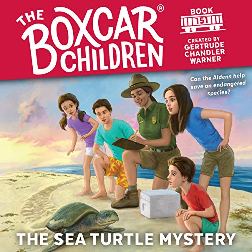 The Sea Turtle Mystery audiobook cover art