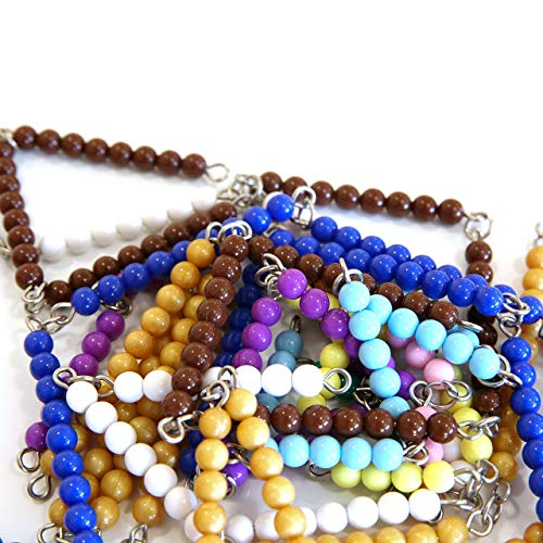 MONTESSORI OUTLET Colored Bead Chains & Squares