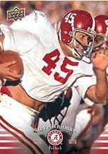 Best 2012 Upper Deck Alabama #36 Steve Whitman - Football Card Review