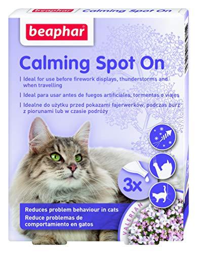 Beaphar 3 Pipetas Spot On Calming para Gatos 0,4 Ml 25 g ⭐