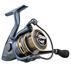 10 bearing system: Corrosion resistant stainless steel ball bearings Graphite body and rotor: Lightweight graphite reel construction. Braid ready spool - Allows Braid to be tied directly to spool Sealeddrag system: Sealed drag washers, always lubric...