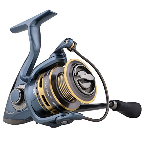 Pflueger President Spinning Fishing Reel For Crappie