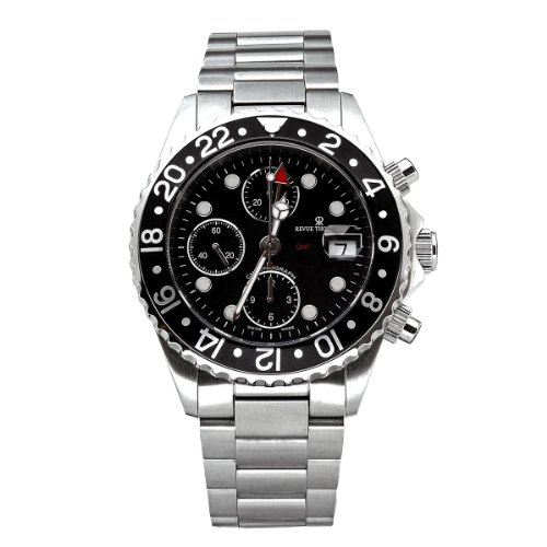 Revue Thommen Herren-Armbanduhr Diver GMT Chronograph 17572.6137