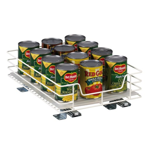 Household Essentials 1215-1 Glidez 1-Tier Sliding Organizer | Pull Out Pantry...