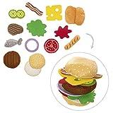 roba Zubehörset BBQ, 14-teiliges Stoffzubehör passend zum roba Barbecue Grill für Kinder, Rollenspielzeug für Jungen und Mädchen ab 3 Jahren