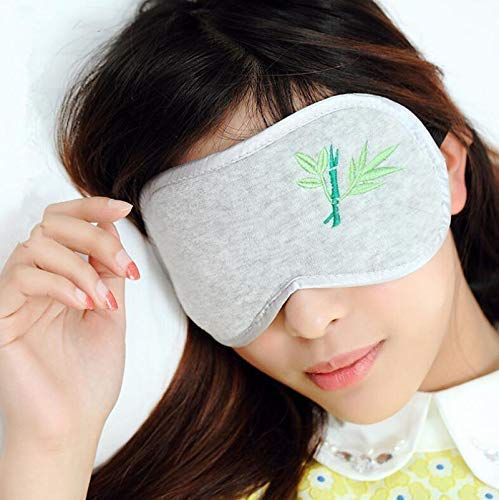 WXDP Bamboe Houtskool Katoen Slaap Oog Masker, Reizen Lunch Break Shade Man En Vrouwelijke Volwassen Kinderen Oogbescherming
