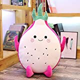 Gdxy Plüschtier 45 cm Soft Dragon Fruit Toy Cute Plant Food Stuffed Fruit Pillow Doll Large Sofa...