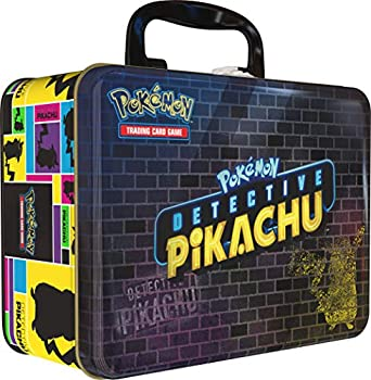 Pokemon TCG Detective PikachuCollector Treasure Chest   9 Booster Pack   A Collector s Pin   A Notepad & Sticker Sheet