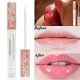 Bálsamo de labios, Lip Balm, Lip Gloss, Labios Bálsamos, Hidratación de larga duración, Plumper Lip Serum, Lip Care Poderoso Relleno Serum Lip Gloss , Mejora la elasticidad de los labios.