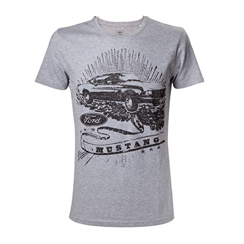 Ford Mustang Vintage Mustang T-shirt gris chiné S