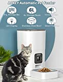 Zoom IMG-1 aokey distributore cibo gatti automatico