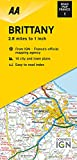 Road Map Brittany (Road Map Europe)