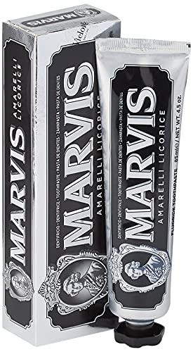 Marvis Dentifricio, Amarelli Licorice con Xylitol, 85ml