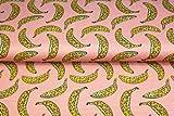 Stenzo – Jersey Stoff für Kinder mit Bananen I Digital