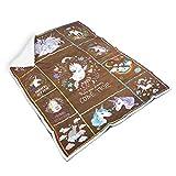 Knowikonwn Blankets Dreame Come Ture Unicornio universal cómodo, lujoso y linda bata envolvente, ideal para niños y niñas, color blanco 2 50 x 60 pulgadas