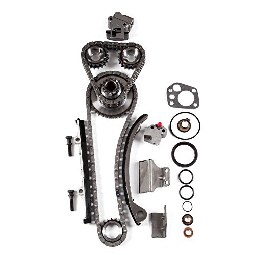 SCITOO Timing Chain Kit fits for 1991-1999 2.4L Nissan 240SX DOHC KA24DE 16V